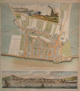 Yeakell & Gardner's Map of Brighthelmston, 1779
